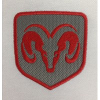 1430 Embroidered patch 8x8 DODGE