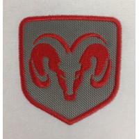 1430 Patch emblema bordado 8x8 DODGE