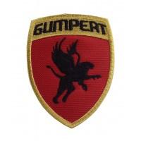 1434 Patch emblema bordado 9x7 GUMPERT