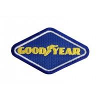 0642 Patch emblema bordado 9x5 GOODYEAR