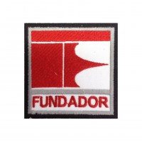1437 Patch emblema bordado 7x7 FUNDADOR