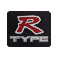 1442 Patch emblema bordado 8x6 HONDA TYPE R