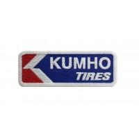 1444 Parche emblema bordado 9X3 KUMHO TIRES