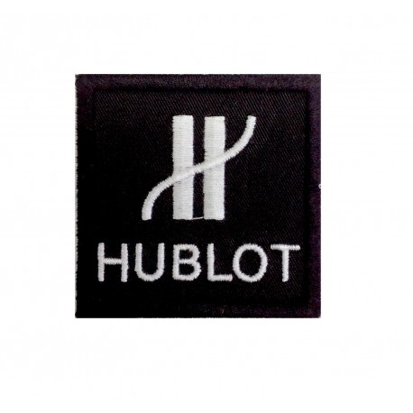 1447 Embroidered patch 6X6 HUBLOT
