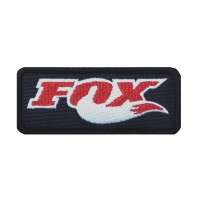 1449 Patch emblema bordado 10x4 FOX