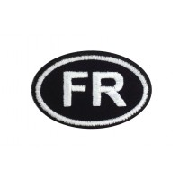 0404 Embroidered patch 8X5 FR FRANCE