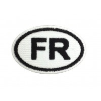 1450 Embroidered patch 8X5 FR FRANCE