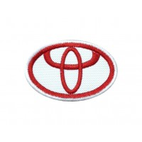 0699 Patch emblema bordado 6x4 TOYOTA