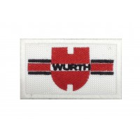 0498 Embroidered patch 8X5 WURTH