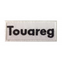 0079 Embroidered patch 10x4 VW Touareg