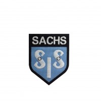 0680 Embroidered patch 9x7 SIS SACHS