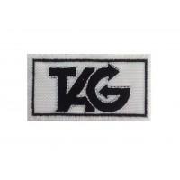 0504 Parche emblema bordado 7x4 TAG
