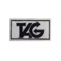 0504 Embroidered patch 7x4 TAG