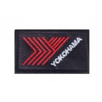 0240 Embroidered patch 7x4 YOKOHAMA TYRES