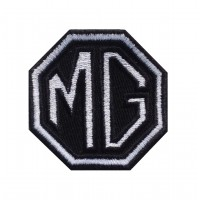 1465 Embroidered patch 6X6 MG MOTOR MORRIS GARAGES