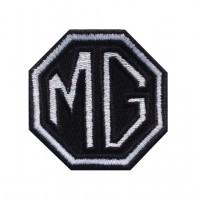 1465 Patch emblema bordado 6X6 MG MOTOR MORRIS GARAGES