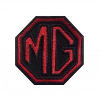 1466 Patch emblema bordado 6X6 MG MOTOR MORRIS GARAGES