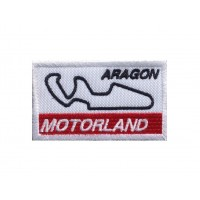 1470 Embroidered patch 7x4 CIRCUIT MOTORLAND ARAGON SPAIN
