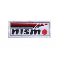 1471 Patch emblema bordado 10x4 NISMO Nissan Motorsport