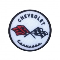 1333 Embroidered patch 7x7 FORD RS SPORT