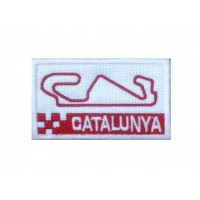 1478 Embroidered patch 7x4 CIRCUIT CATALUNYA MONTMELO BARCELONA SPAIN