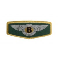 1479 Embroidered patch 10x4 BENTLEY