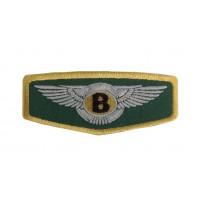 1479 Patch emblema bordado 10x4 BENTLEY