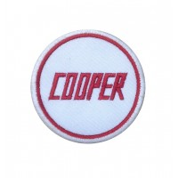 1480 Embroidered patch 7x7 COOPER
