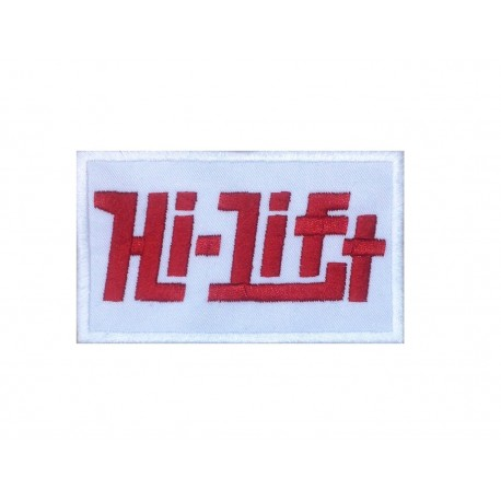 0117 Embroidered patch 10x6 HI-LIFT