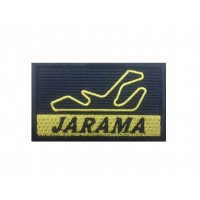 1489 Patch emblema bordado 7x4 CIRCUITO JARAMA MADRID ESPANHA