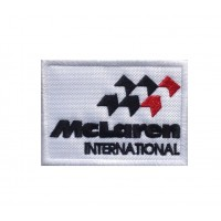 1492 Embroidered patch 8x6 MCLAREN 1981-1990 MC LAREN