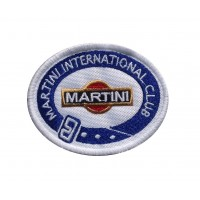1499 Patch emblema bordado 8x6 MARTINI INTERNATIONAL CLUB