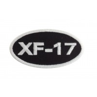 1509 Embroidered patch 8X5 FAMEL XF 17 ZUNDAPP
