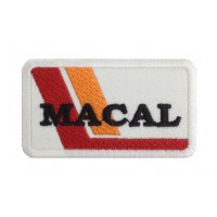 1512 Embroidered patch 8X5 MACAL