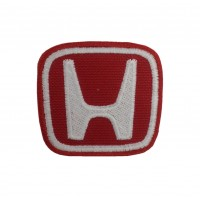 0753 Embroidered patch 6X6 HONDA