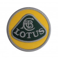 0441 Embroidered patch 7x7 LOTUS