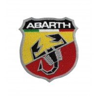0567 Embroidered patch 7x6 ABARTH