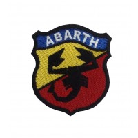0568 Embroidered patch 7x6 ABARTH