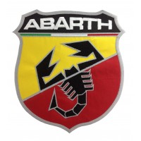 0248 Embroidered patch 22x20 ABARTH 2007