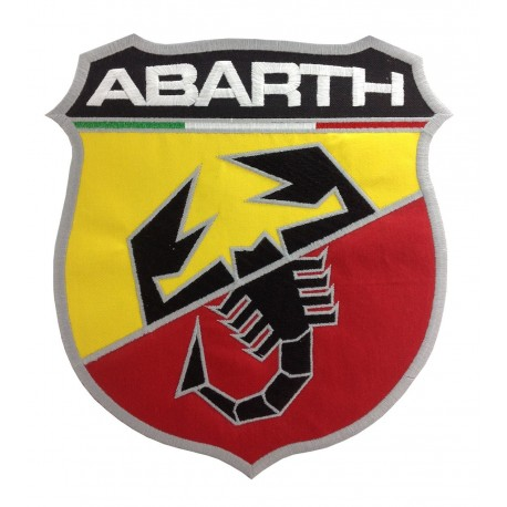 0248 Embroidered patch 22x20 ABARTH