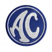 0261 Embroidered patch 7x7 AC COBRA