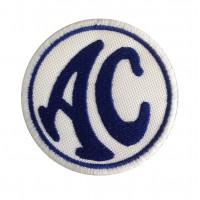 0445 Parche emblema bordado 7x7 AC COBRA