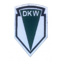 1221 Embroidered patch 9x6 DKW 1902 AUDI