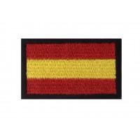 0365 Patch écusson brodé 6x3,7 drapeau ESPAGNE