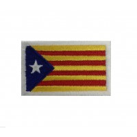 1519 Embroidered patch 6X3,7 CATALAN FLAG