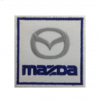 0605 Embroidered patch 7x7 MAZDA 1998
