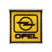 0542 Patch écusson brodé 7x7 OPEL LOGO 1987
