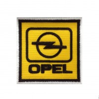 0542 Embroidered patch 7x7  OPEL 1987 LOGO