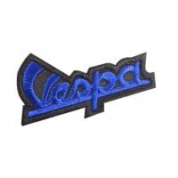0470 Embroidered patch 7x4 Piaggio Vespa
