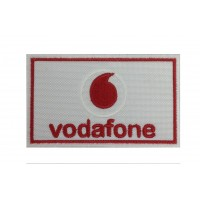 0513 Embroidered patch 10x6 VODAFONE